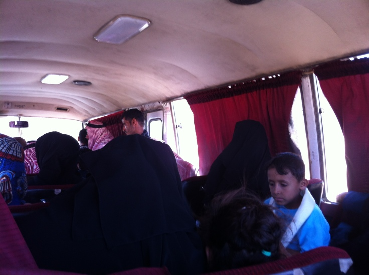 Bus to Wadi Ru