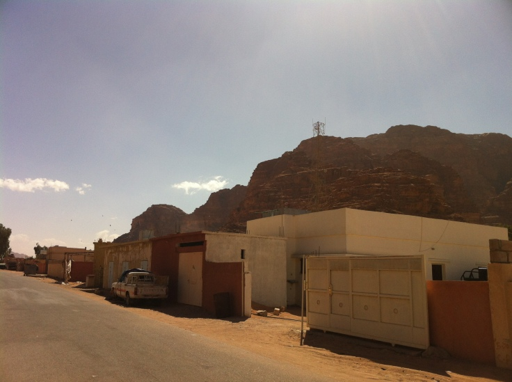 Entrance of Wadi Rum Village